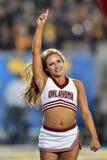 2014 футбол NCAA - WVU-Оклахома Стоковые Изображения RF