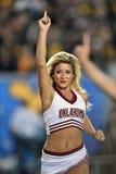 2014 футбол NCAA - WVU-Оклахома Стоковое Изображение