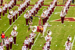 Футбол Seminole положения Флориды Стоковая Фотография RF
