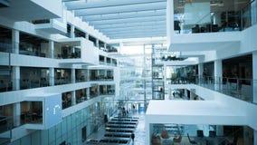 Футуристическая архитектура современного университета Стоковое Фото