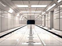 Футуристическая внутренняя окружающая среда Стоковая Фотография RF