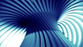 Футуристическая голубая фантазия формы чужеземца иллюстрация штока