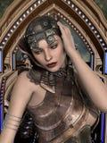 футуристическая женщина Стоковое фото RF