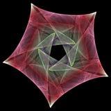футуристическая звезда Стоковые Фото