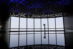 Футуристическая комната в Дубай Стоковые Фото
