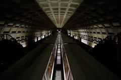 футуристическая подземка Стоковое Изображение