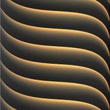 Футуристическая светлая предпосылка Стоковая Фотография RF