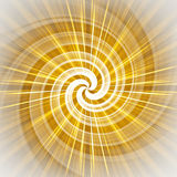 футуристическая спираль Стоковая Фотография