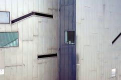 Футуристическая стена 2 стоковое фото rf