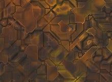 Футуристические абстрактные предпосылки техника цифровая ровная текстура Стоковые Изображения RF