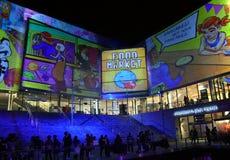 Футуристические ветрила конкурса в Chatswood Стоковая Фотография RF