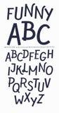 Футуристические письма алфавита шрифта Творческая минимальная пальмира Вектор EPS 10 Стоковое Изображение RF