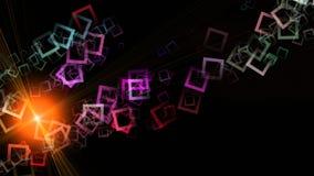 Футуристический дизайн предпосылки квадрата технологии бесплатная иллюстрация