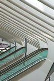 Футуристический железнодорожный вокзал liege-Guillemins Стоковая Фотография