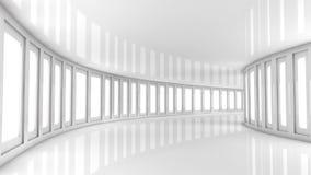 Футуристический коридор Стоковые Изображения