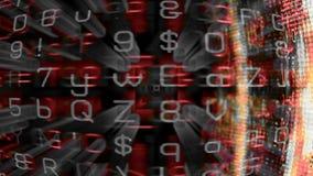 Футуристический экран 10622 технологии Стоковое Изображение RF