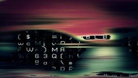 Футуристический экран 10642 технологии Стоковая Фотография RF