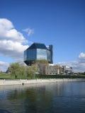 Футуристическое самомоднейшее здание Стоковые Фото