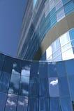 футуристическое skysrcaper Стоковое Изображение