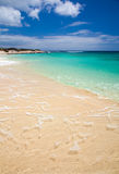 Фуэртевентура, пляж Burro Стоковое фото RF