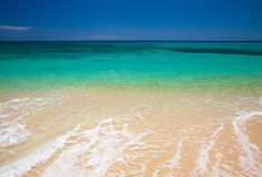 Фуэртевентура, пляж Burro Стоковые Фотографии RF