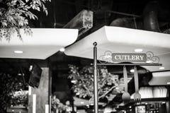 Фуд-корт на стержне 21 в Таиланде 26-ого марта 2017 | обслуживание ресторана для обеда и обедающего как образ жизни города соврем Стоковая Фотография RF