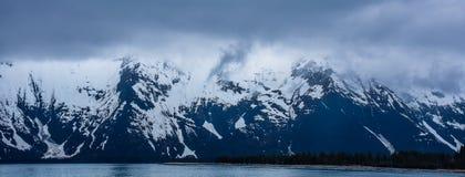 Фьорды национальный парк Kenai, Аляска, США стоковая фотография rf