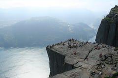фьорды норвежские Стоковое фото RF