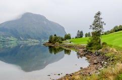 фьорд Норвегия стоковые изображения rf