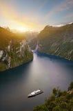 фьорд Норвегия Стоковое Изображение RF