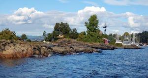 фьорд Осло стоковое изображение rf