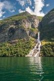 Фьорд Geiranger, Норвегия Стоковые Фото