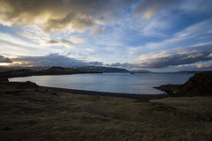 фьорд Исландия Стоковые Изображения