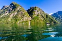 фьорд Норвегия Стоковая Фотография