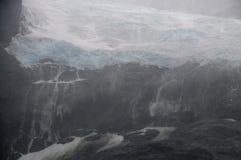 Фьорд Drygalski, Южная Георгия стоковые фото