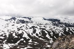 Фьорд Norvegian Стоковое фото RF