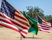 3 флага Стоковое Фото