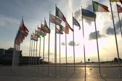 флаги европы Стоковое Фото
