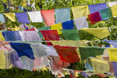 Флаги молитве. Стоковое Изображение RF