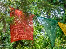 Флаги молитве Стоковое Изображение RF