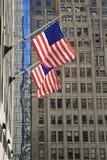 Флаги объединенного питают Америки Стоковые Изображения