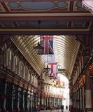 Флаги от потолка Стоковая Фотография RF