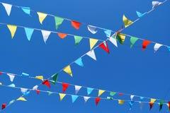 Флаги партии Стоковая Фотография