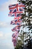 Флаги юниона джек Стоковая Фотография RF
