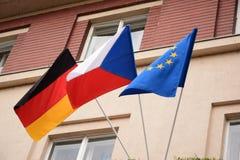 Флаги Стоковые Изображения RF