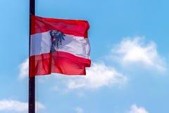 Флаг Австрия Стоковые Изображения RF