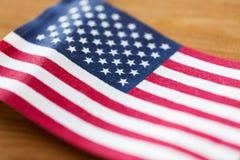 флаг американца близкий вверх стоковые изображения