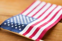флаг американца близкий вверх стоковые фото
