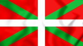 Флаг Баскония иллюстрация 3d Стоковое Изображение RF