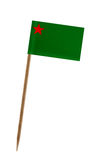 флаг Бенина стоковое фото